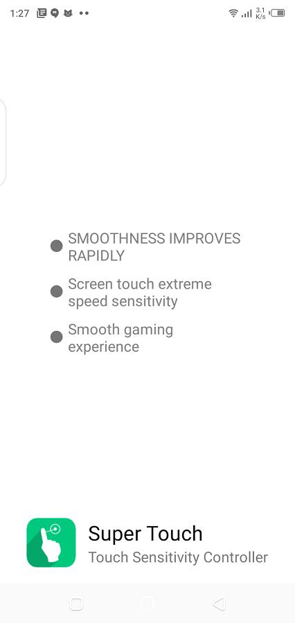 Screenshot of Super Touch Mod Apk