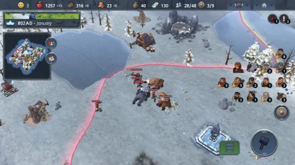 Screenshot of Northgard Game Download