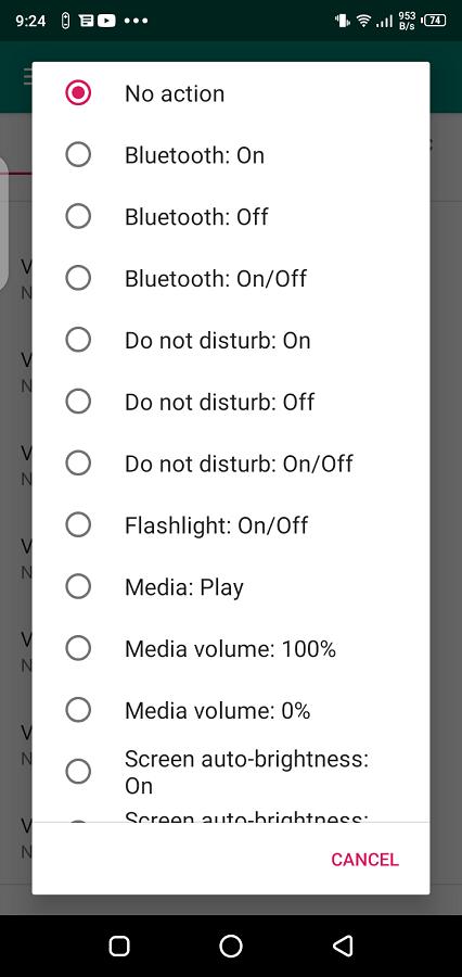 Screenshot of Almighty Volume Keys App