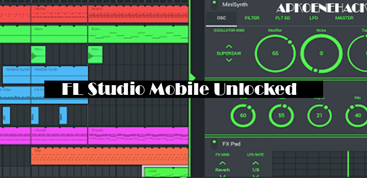 FL Studio Mobile MOD Apk + OBB Data [Unlocked] 3.1.84 Download by Image-Line