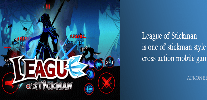 League of Stickman 2018 – Ninja v5.2.3 Apk + MOD [Free Shopping] Download by DreamSky