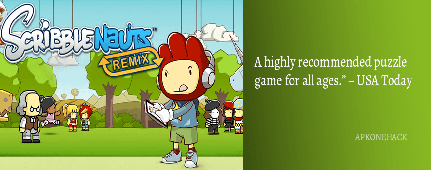 Scribblenauts Remix MOD Apk + OBB Data [Unlocked] 6.9 Android Download by Warner Bros