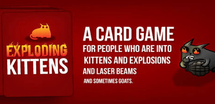 Exploding Kittens Official Apk + MOD [Unlocked] 4.0.0 Android Download by Exploding Kittens