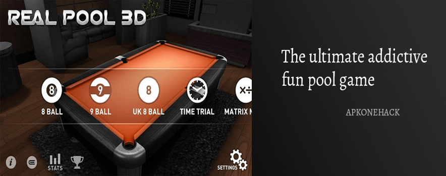 Real Pool 3D Apk [Full Paid] 2.5 Android Download by EivaaGames