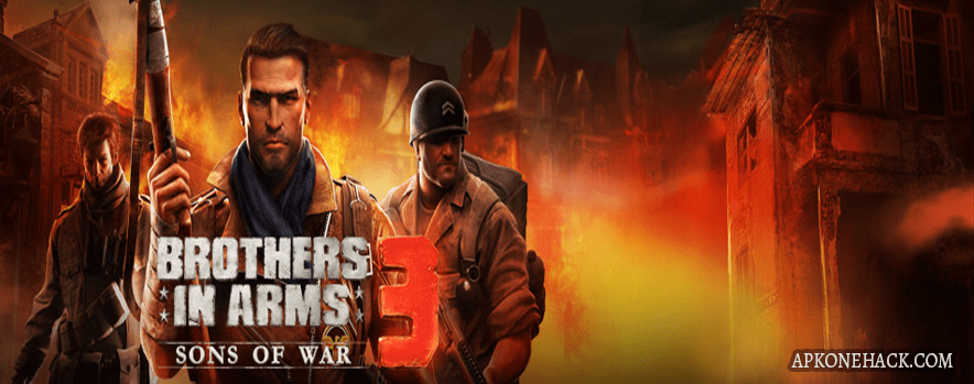 Brothers in Arms 3 MOD Apk + OBB Data [MEGA Hacks] 1.4.7c Android Download by Gameloft