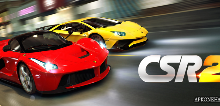 CSR Racing 2 MOD Apk + OBB Data [MEGA Hacks] 1.23.0b2144 Android Download by NaturalMotionGames Ltd