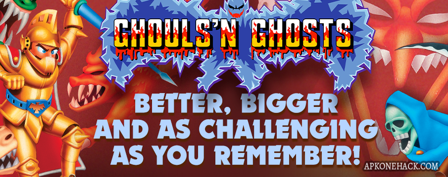Ghouls'n Ghosts MOBILE apk download