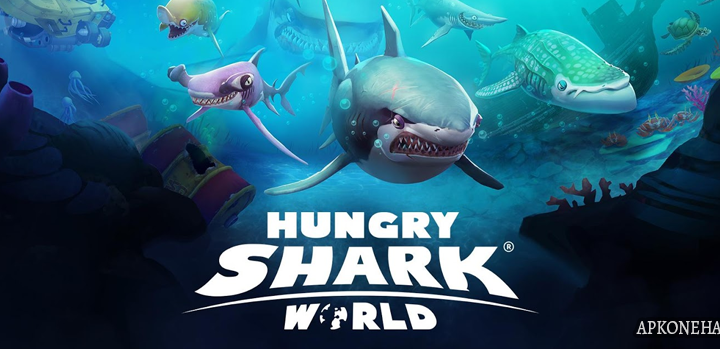Hungry Shark World MOD Apk + OBB Data [Unlimited Money] 2.8.0 Android Download by Ubisoft Entertainment
