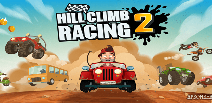 Hill Climb Racing 2 MOD Apk [Unlimited Coins] 1.16.0 Android Download by Fingersoft