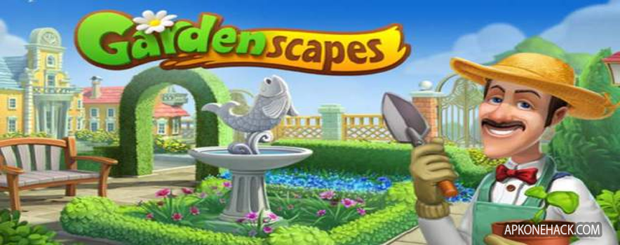 Gardenscapes - New Acres mod apk download