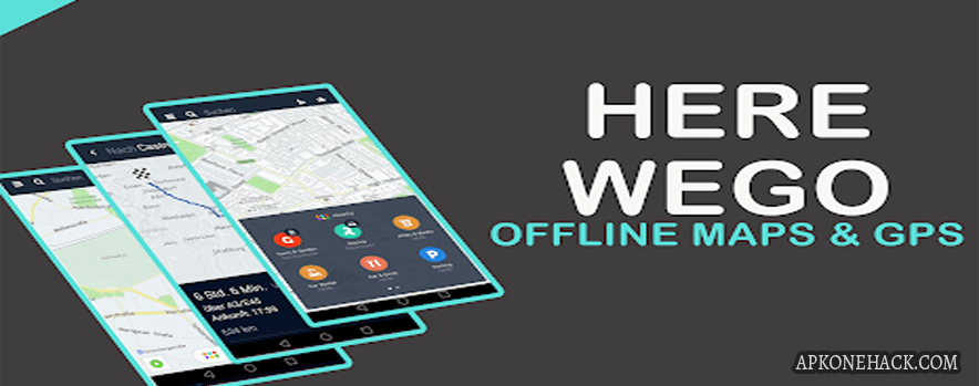 HERE WeGo Offline Maps & GPS mod apk download