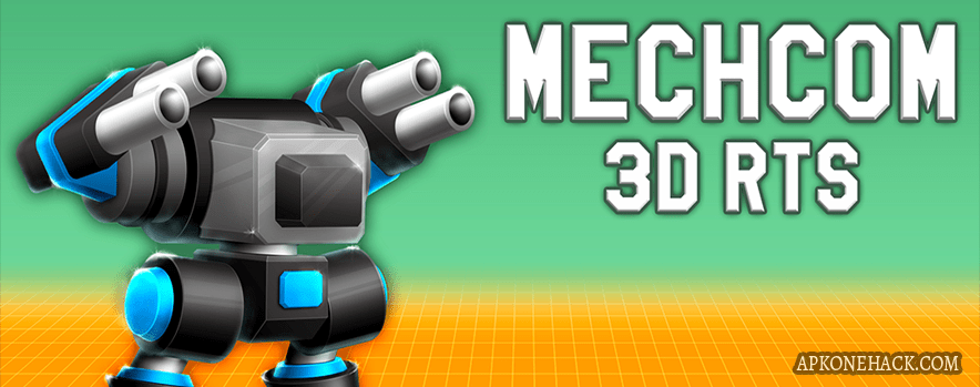 MechCom 3 3D RTS full apk android