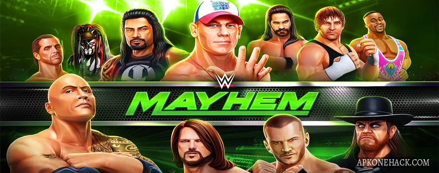 WWE Mayhem mod apk money android