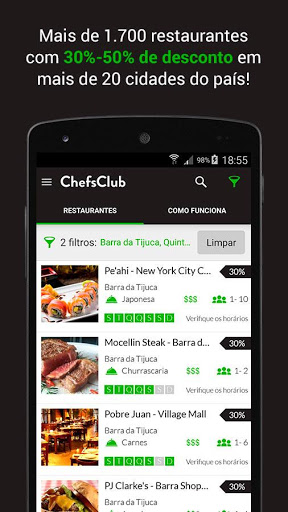 ChefsClub Brazil 5.4.6 screenshots 2