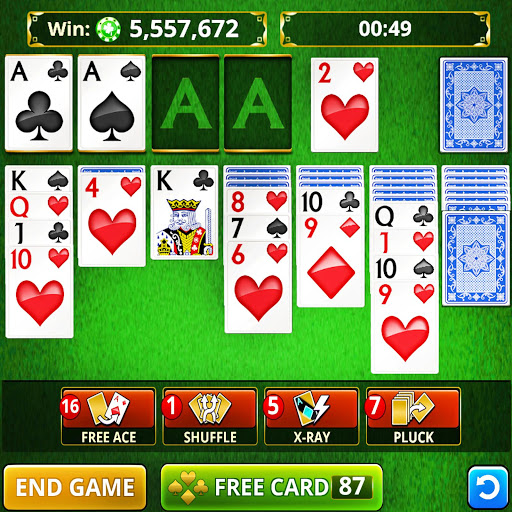 SOLITAIRE CARD GAMES FREE 1.150 screenshots 1