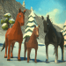 Download Winter Horse Simulator – Winter Family Adventure 1.11 APK For Android