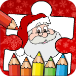 Download Christmas Coloring Book & Puzzle 1.3.0 APK For Android