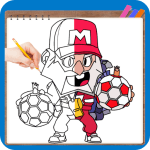 Download How to Draw Brawl Stars Character Skins 1.04 APK For Android