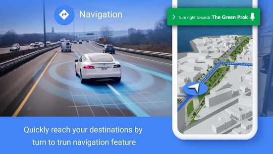 GPS Navigation – Route Finder, Direction, Road Map 1.5