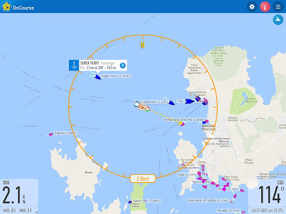 OnCourse – boating & sailing 2.2.0