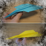 Origami paper planes up to 100 meters 4.0