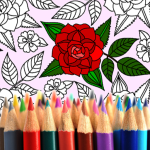 Download Adult Coloring: Flowers 7.0.8 APK For Android