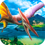 Download Jurassic Pterodactyl Simulator – be a flying dino! 1.02 APK For Android