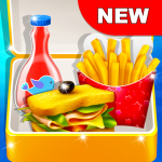 Download School Lunchbox – Food Chef Cooking Game 1.0.3 APK For Android