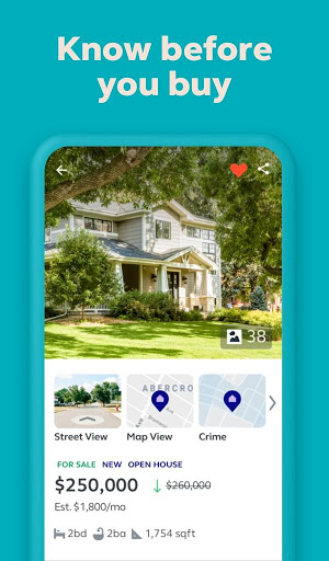 Trulia Real Estate Search Homes For Sale amp Rent 11.14.0 screenshots 1