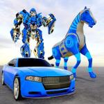 Download Police Horse Robot Transform Car Robot Games 1.0.2 APK For Android