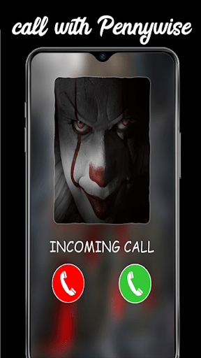 Fake Call With Pennywise And Videos Chat Clown2020 1.4 screenshots 1
