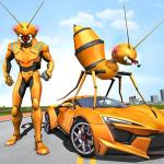 Download Ant Robot Car Transforming Games – Car Robot Game 1.0 APK For Android