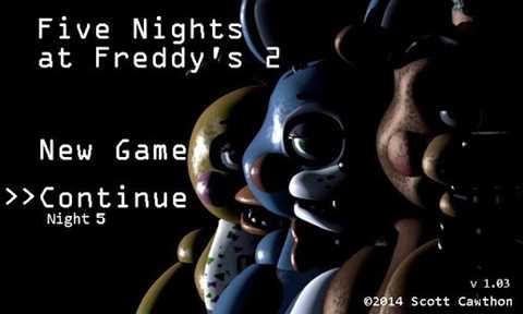 Five Nights at Freddy's 2 Demo 1