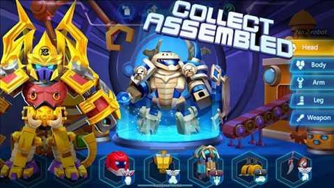 Herobots – Build to Battle 1