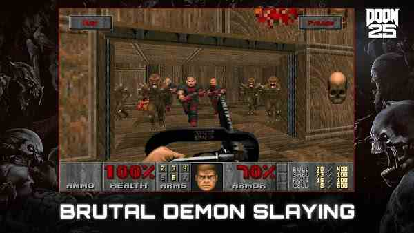 DOOM Demon slaying