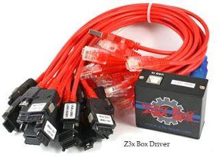 Z3x Box Drive Logo