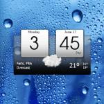 Digital clock world weather [pro]