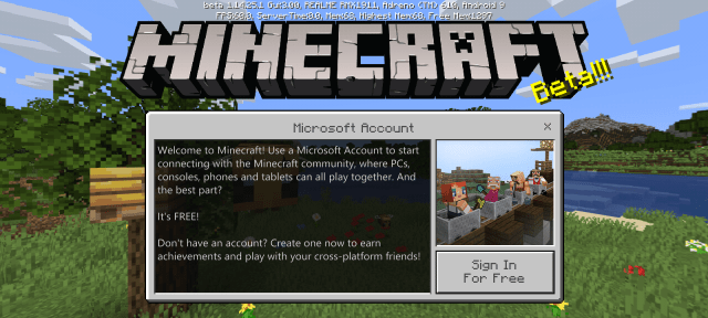 Screenshot of Minecraft PE Beta Apk