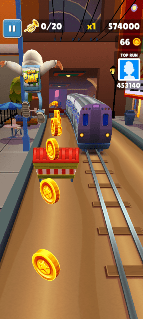 Screenshot of Subway Surf Natal