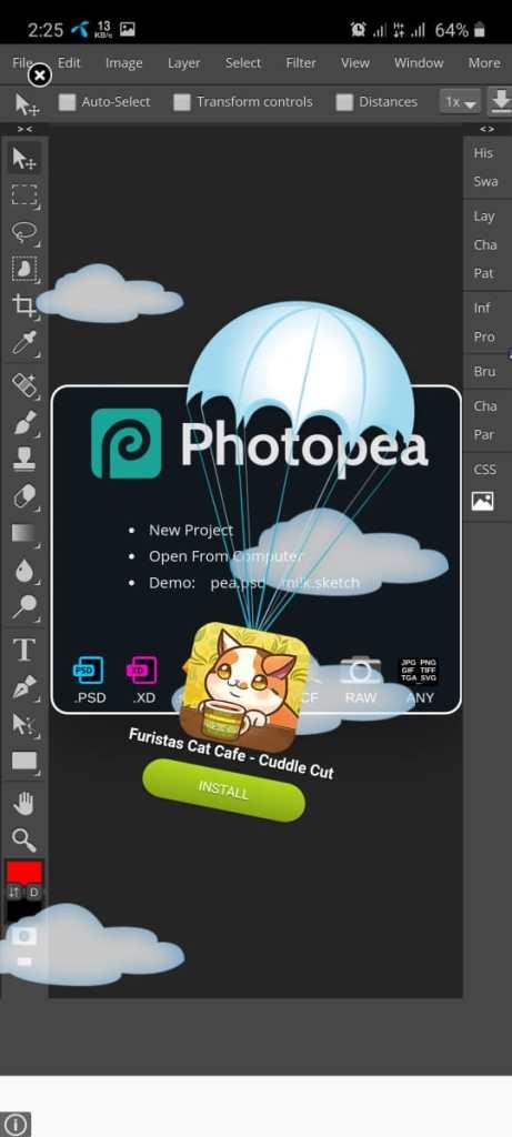 Screenshot of PhotoP.Com Apk