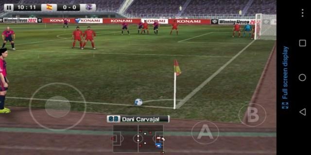 Screenshot of Winning Eleven 2012 Apk