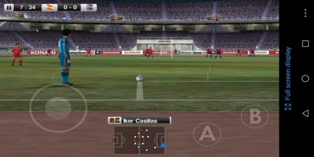 Screenshot of Winning Eleven 2012 App