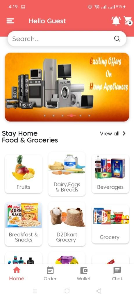 Screenshot-of-D2DKart-App
