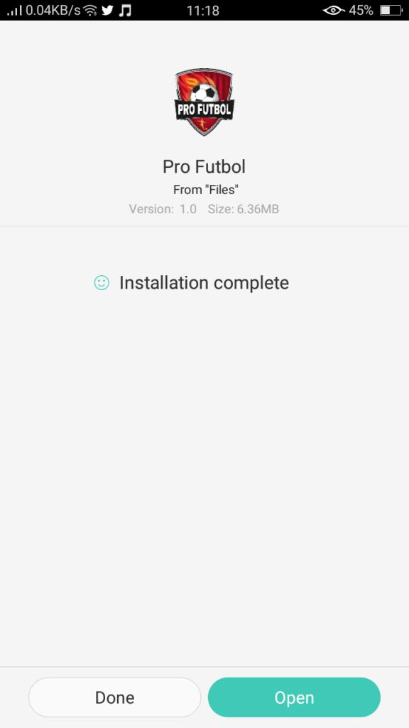 Screenshot-of-Pro-Futbol-App