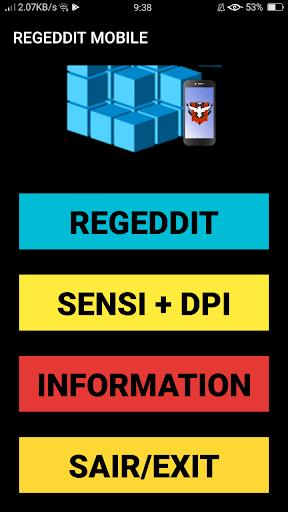 Screenshot of REGEDIT Mobile