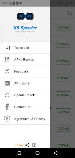 Screenshot of x8 Speeder 3.5.3