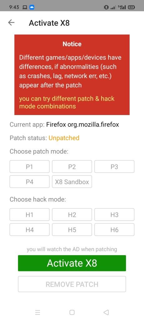 Screenshot-of-X8-Speeder-Without-Ads