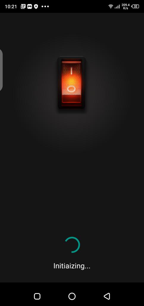 Screenshot-of-Flashlight-Video-Projector-Apk