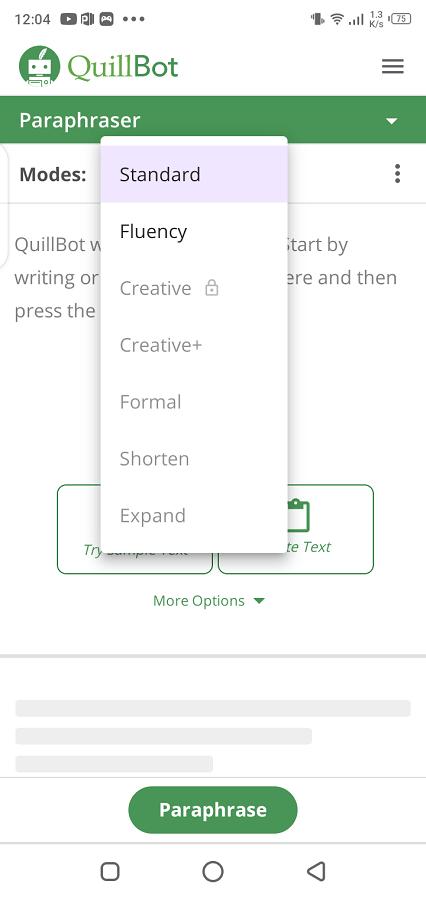 Screenshot-of-Quillbot-App
