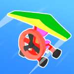 Road Glider – Incredible Flying Game 1.0.25 APK MOD Unlimited Money